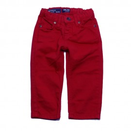 VINROSE Trousers straight fit boy red