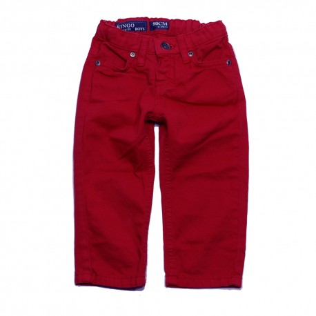 VINROSE Trousers ringo aurora red