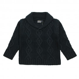 VINROSE Pullover in knitwear boy dark blue