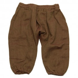 GOLD Trousers knickerbockers unisex brown