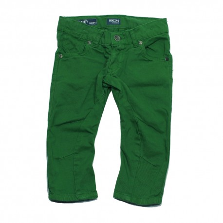 VINROSE Trousers fadey juniper green