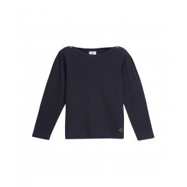 PETIT BATEAU T-shirt long sleeves blue