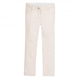 PETIT BATEAU Trousers slim fit girl pale pink