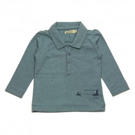 - IMPS & ELFS - Poloshirt grey blue