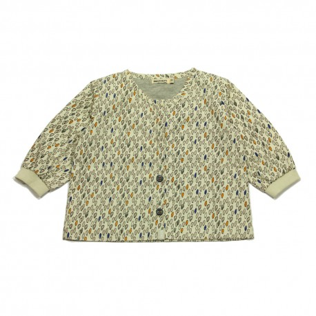- IMPS & ELFS - Blouse offwhite with multicolor drops