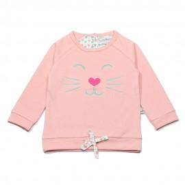 Ducky Beau pullover girl light pink