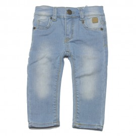 DUCKY BEAU Jeans girl light blue denim