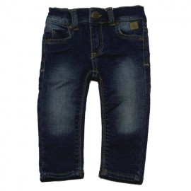 DUCKY BEAU Jeans girl dark blue denim