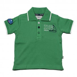 Ducky Beau polo short - sleeved boy green