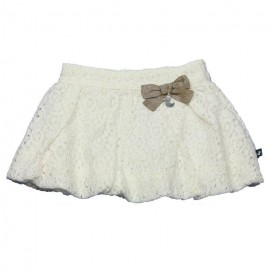 DUCKY BEAU Skirt girl offwhite