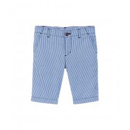 PETIT BATEAU Bermuda short boy striped light bleu