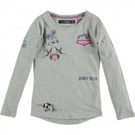 CKS T-shirt long-sleeved girl grey