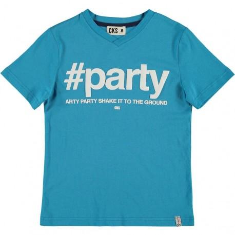 CKS T-shirt short-sleeved boy blue