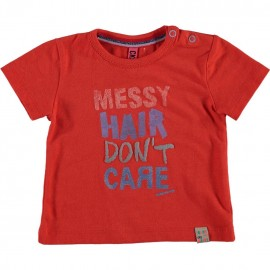 CKS T-shirt short-sleeved baby girl red