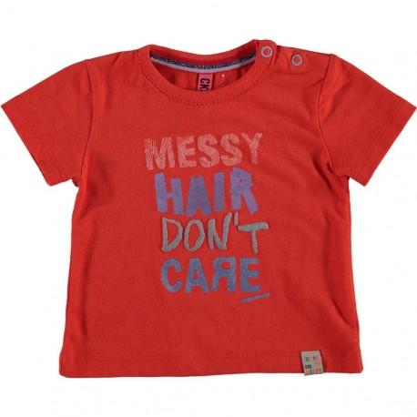 CKS T-shirt short-sleeved baby girl red