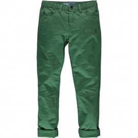 CKS Trousers straight fit boy green
