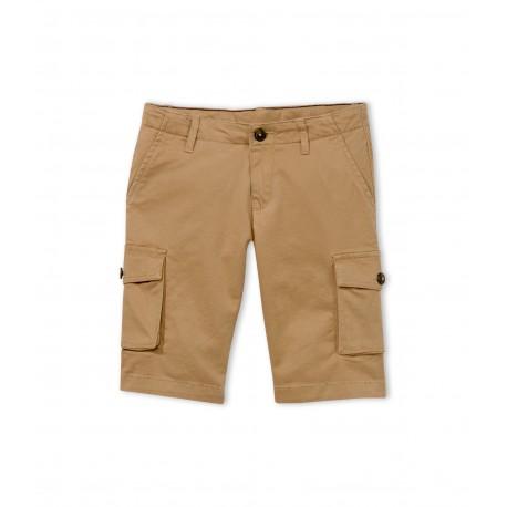 PETIT BATEAU Bermuda shorts boy camel