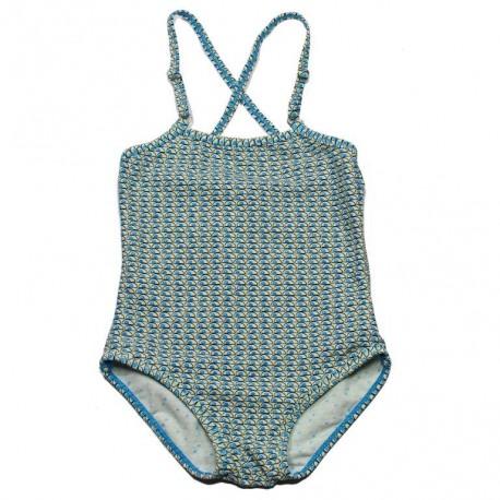 KIDSCASE Swimsuit girl blue