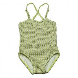 KIDSCASE Swimsuit girl lime green