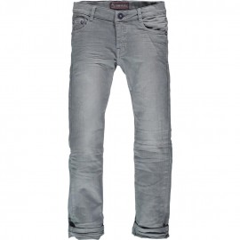 CKS Trousers volumecol blue grey