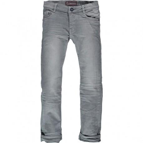 CKS Trousers volumecol blue grey