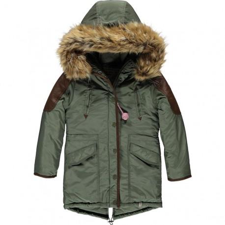 CKS Wintercoat janice khaki