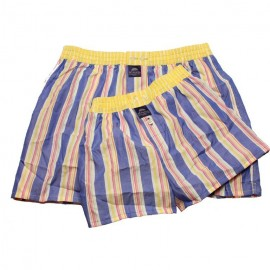 Mc ALSON Boxer short for me & my daddy gift package multicolor stripes