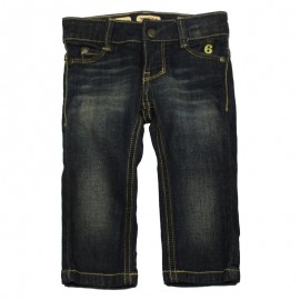 IMPS&ELFS Jeans slim fit unisex denim dark blue