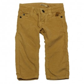 IMPS&ELFS Trousers corduroys slim fit boy camel brown