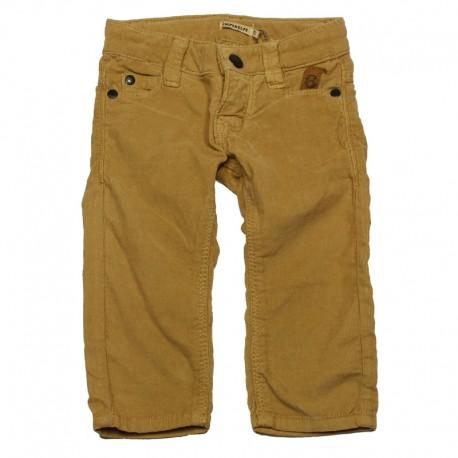 IMPS&ELFS Trousers corduroys slim fit boy camel brown