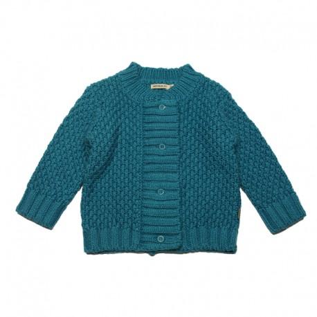 IMPS&ELFS Cardigan girl petrol blue