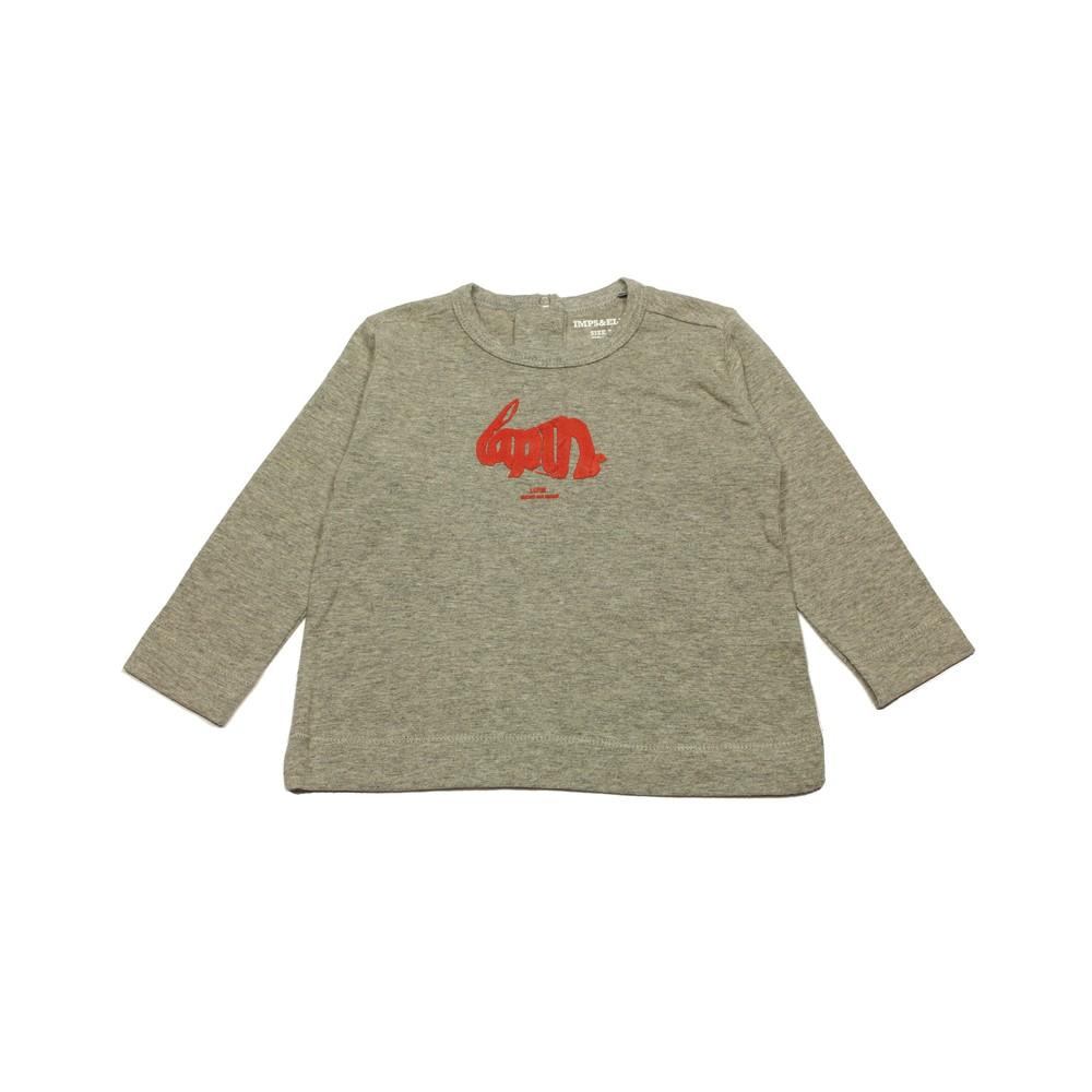 Imps Elfs T Shirt Long Sleeved Organic Cotton Girl Mottled