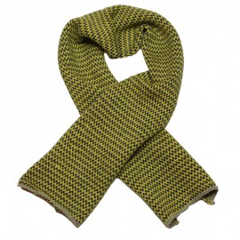 IMPS&ELFS Scarf knitted organic cotton and wool boy & girl yellow
