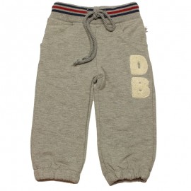 DUCKY BEAU Trousers jogging boy mottled light grey