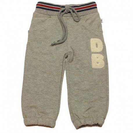 DUCKY BEAU Trousers jogging boy mottled light grey