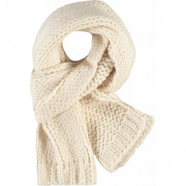 CKS Scarf knitted girl offwhite