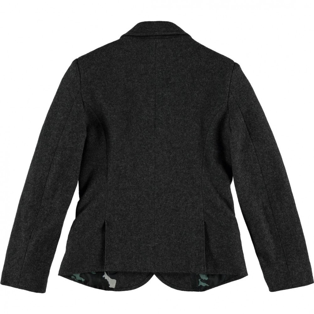 Cks Jacket Tailored In Soft Wool And Polyester Blend For