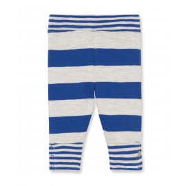 PETIT BATEAU Leggings boy blue stripes