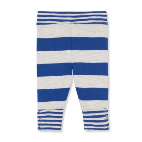PETIT BATEAU Leggings boy blue stripes