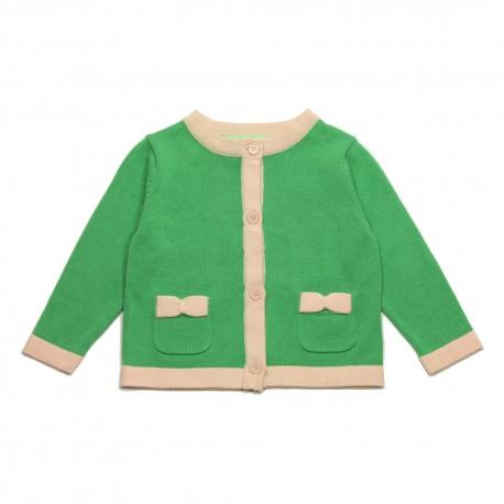 VINROSE Cardigan green pale pink